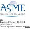 ASME Dinner and Presentation